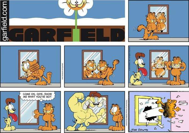 Window Throw Garfield Meme 5 Garfield Last Panel Replacements Know Your Meme