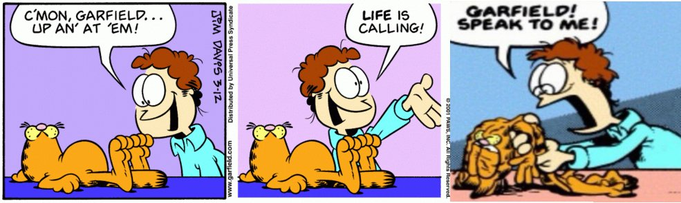 Deflated Garfield Meme 2 Garfield Last Panel Replacements Know Your Meme
