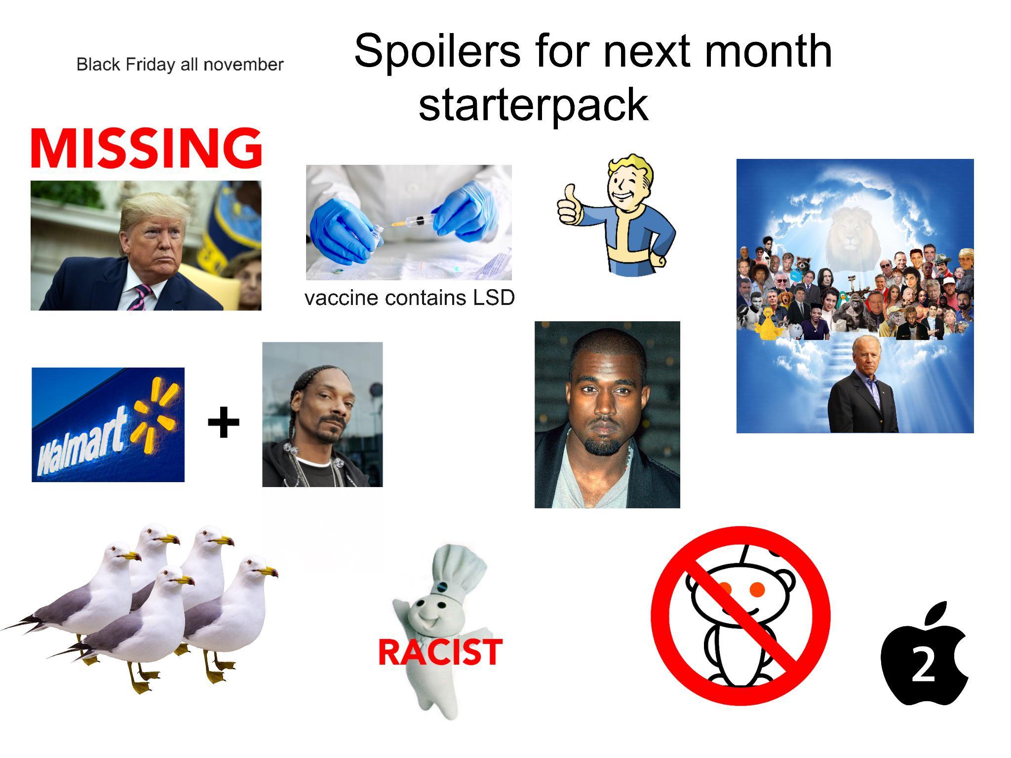 November Spoilers Starterpack R Starterpacks Starter Packs Know Your Meme
