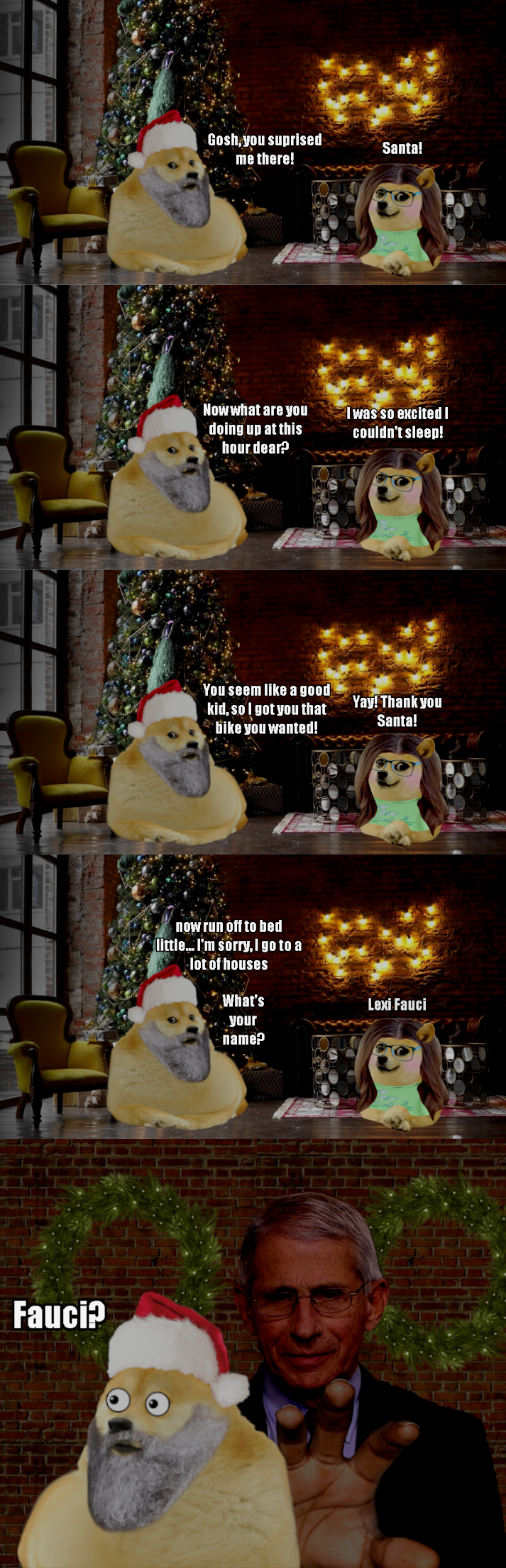 Le Christmas Gift Has Arrived R Dogelore Ironic Doge Memes Know Your Meme The history of christmas cards. ironic doge memes