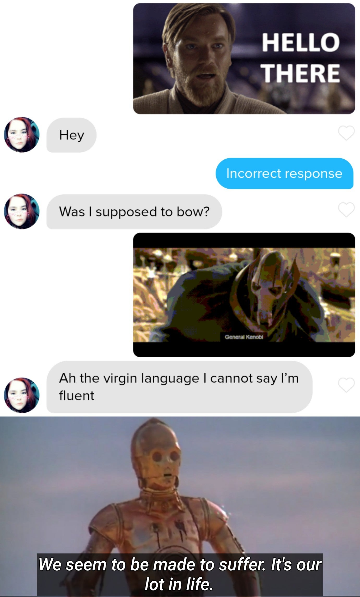 She is a bold one   /r/PrequelMemes   Prequel Memes   Know Your Meme