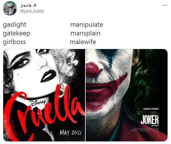 Gaslight Gatekeep Girlboss Joker Edition | Gaslight, Gatekeep, Girlboss |  Know Your Meme
