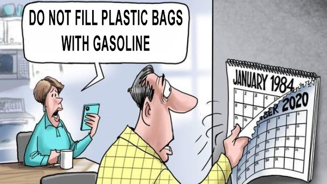 Do Not Fill Plastic Bags With Gasoline | 2021 U.S. East Coast Gas Shortage  | Know Your Meme