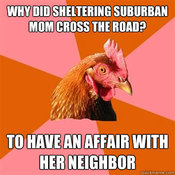 Sheltering Suburban Mom | Know Your Meme